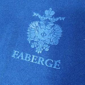FABERGE` Russian coronation large velvet box